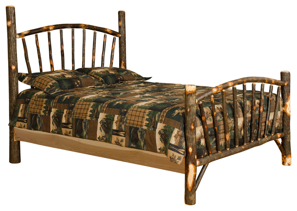 King Size Bed Amish Made in the USA Custom Rustic Barn Wood Furniture