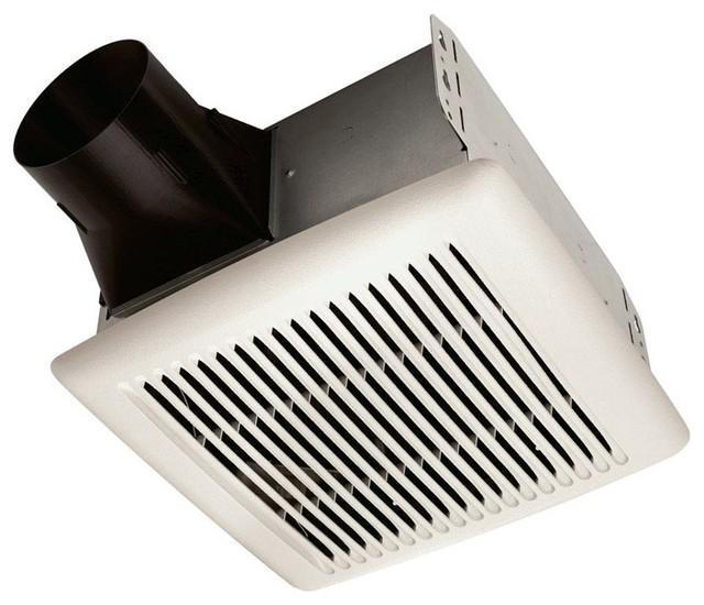 Broan A110 Invent Single Speed Ventilation Fan 110 Cfm 3 0 Sones Bathroom Exhaust Fans By
