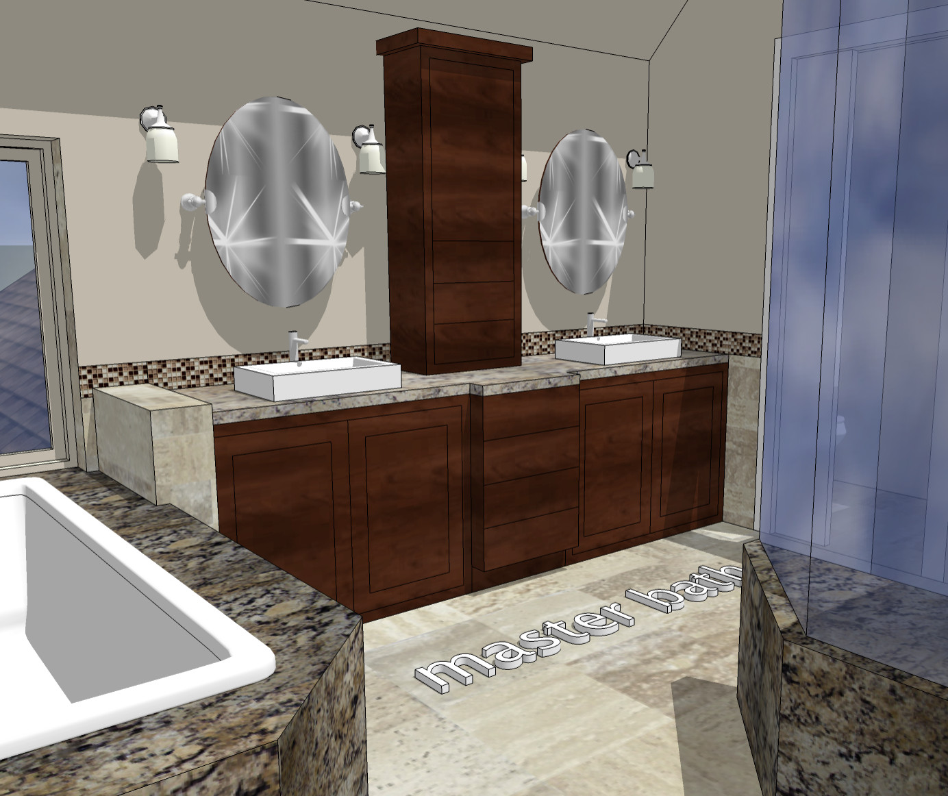 Woodbury - 3D Master Suite Remodel