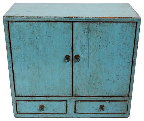 ConSigned Turquoise Side Cabinet