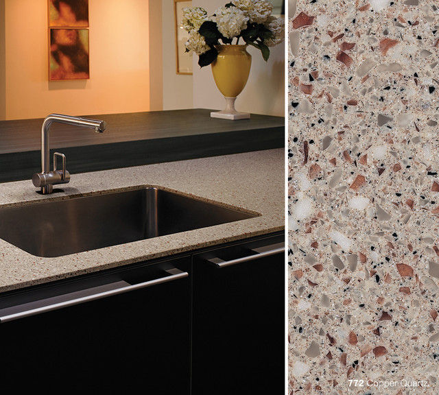 772 Copper Quartz Formica® Solid Surfacing Contemporary