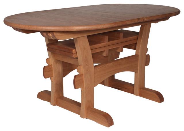 mystic kitchen table craftsman dining tables by peaslee design. Black Bedroom Furniture Sets. Home Design Ideas