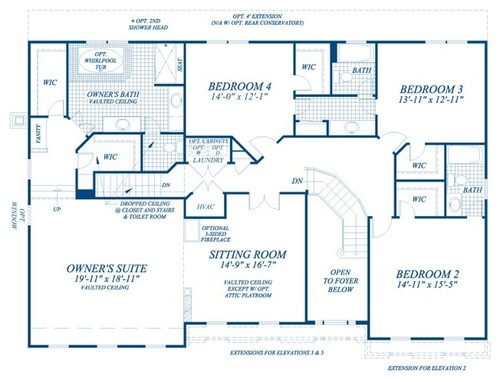 master bed room sitting room or loft new home dilemma