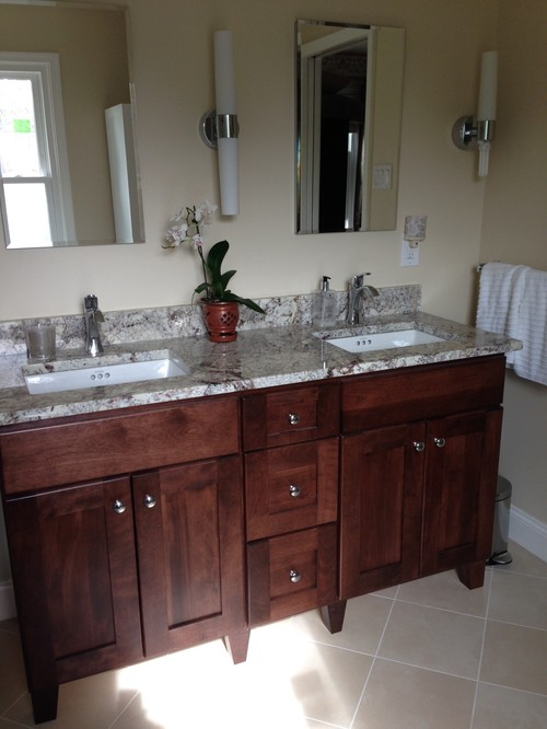 "Bertch 24 Bathroom Vanity bertch 60"" single bowl vanity for hall bath"