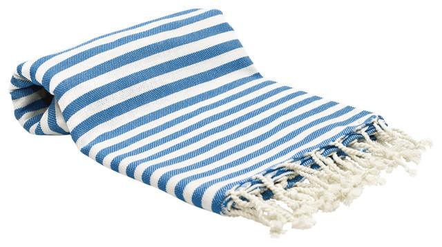 Striped Peshtemal Turkish Towel Fouta Beach Style