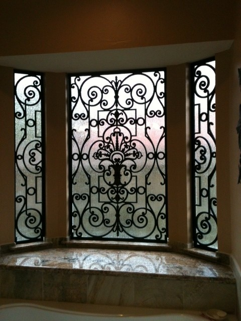 Tableaux Faux Iron Eclectic Houston By Shutter Up