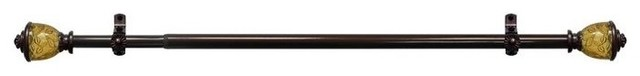 "Camino Decorative Rod And Finial Lincroft, 66""-120""."