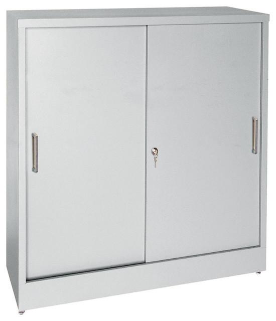 Shop Houzz | Sandusky Cabinets Steel Storage Cabinet, 42 ...