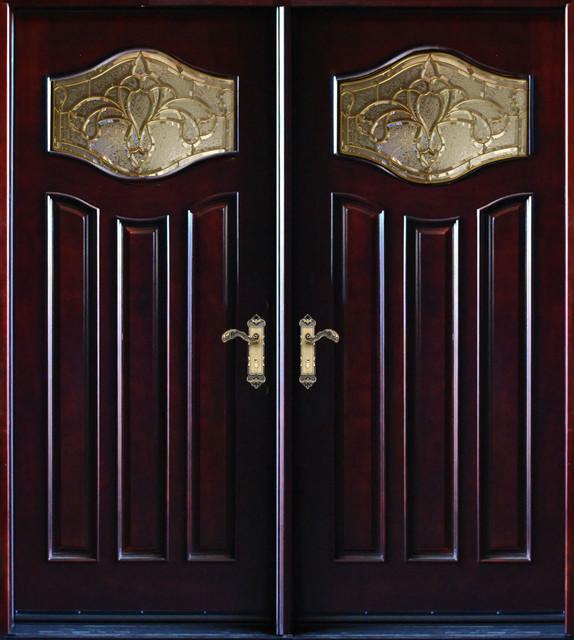 Exterior Front Entry Double Wood Door Mp Dm80 30 X80 X2 Left
