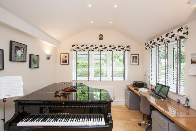 Music Room Study For A Teenager Contemporary