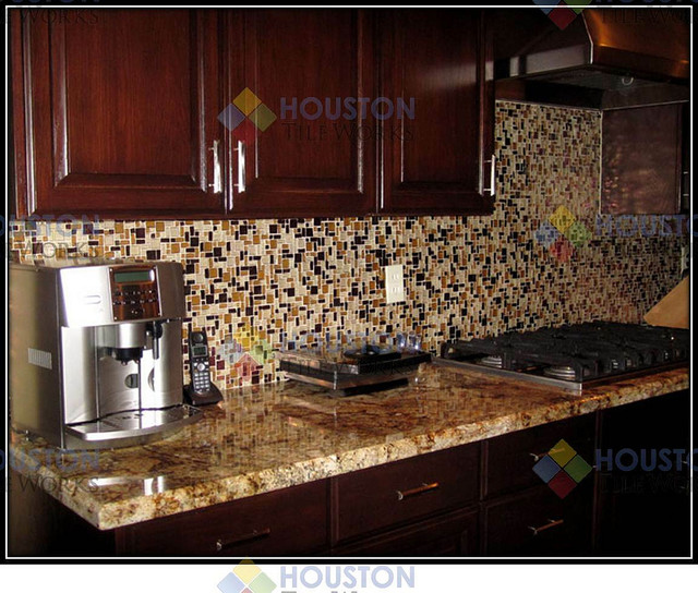 backsplashes for small kitchens kitchen backsplash mediterranean kitchen houston 15745
