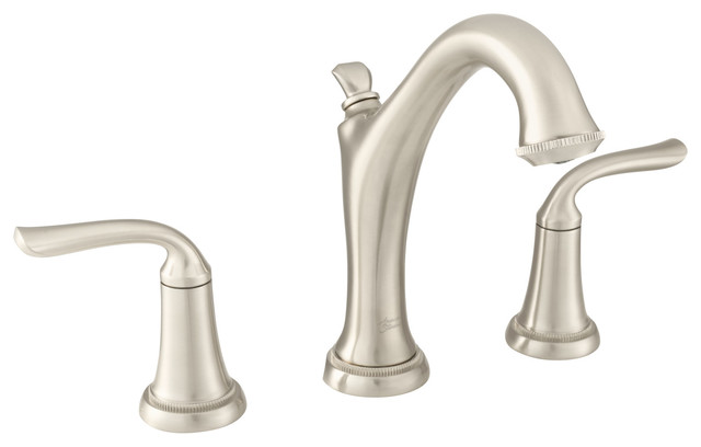 Patience Widespread Hight Spout, 1.2 GPM, Brushed Nickel