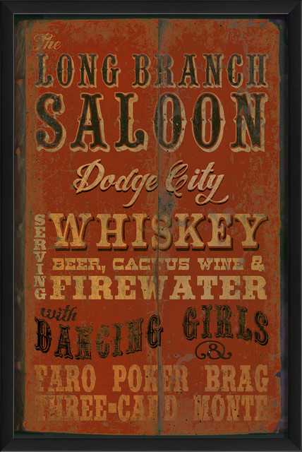The Artwork Factory Long Branch Saloon Print Amp Reviews