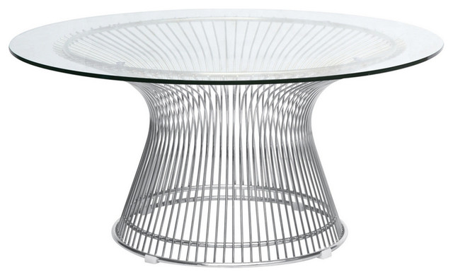 Warren Platner Style Coffee Table Gl Contemporary Tables By Mid Mod