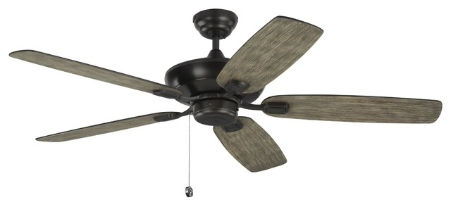 Monte Carlo 52 Colony Max Aged Pewter Ceiling Fan.