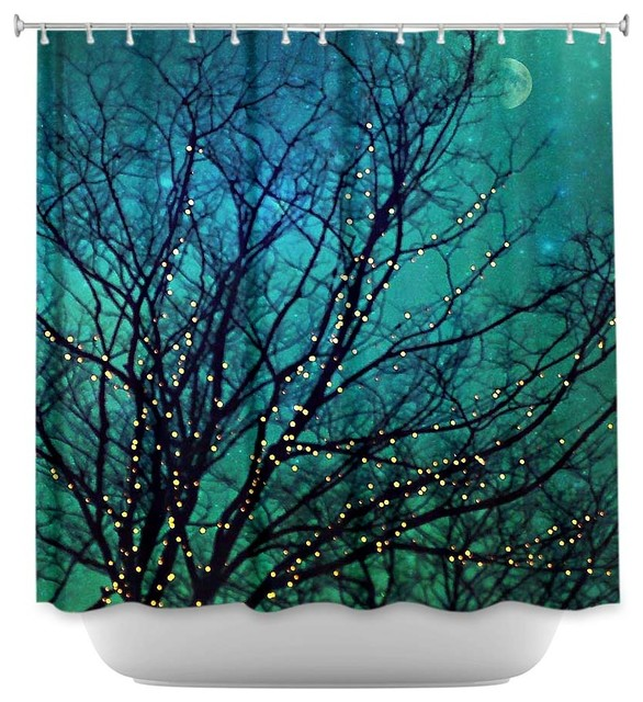 Magical Night Shower Curtain - Contemporary - Shower Curtains - by ...