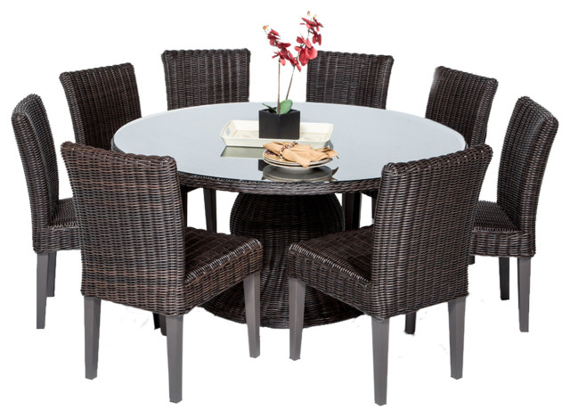 Venice 60 Outdoor Patio Dining Table, 60 Round Outdoor Dining Table