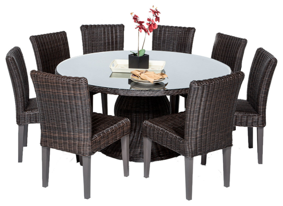 Venice 60 Outdoor Patio Dining Table, 60 Inch Round Dining Table Set