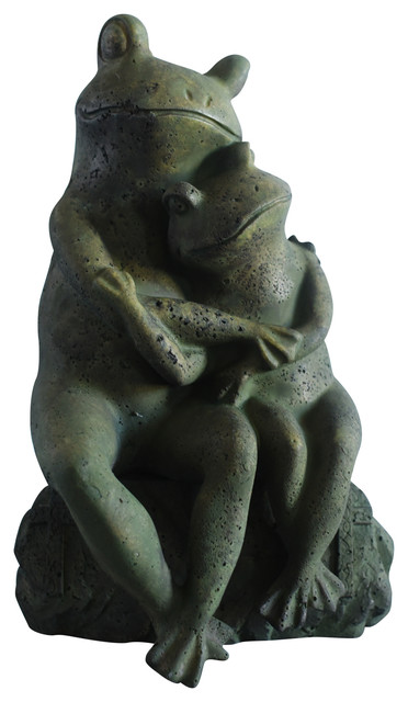 Love Frogs Garden Statue