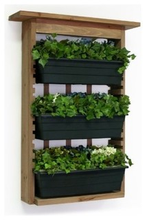 Algreen Products 34002 Gardenview With 3 Planters