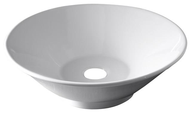 American Standard 0514.000.020 Celerity Above Counter Vessel, White.