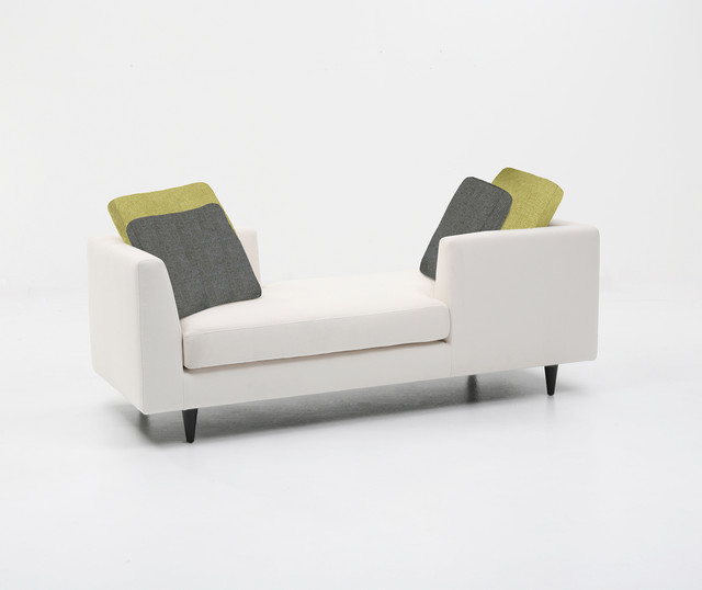 Lesley Double Ended Chaise Longue - Midcentury - Indoor Chaise ... on double ended bench, double ended curio, double ended rocking chair, double ended bar, double ended settee, double ended couch, double ended lamps,