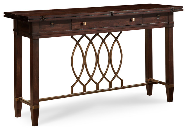 A R T Home Furnishings Intrigue Flip Top Sofa Table