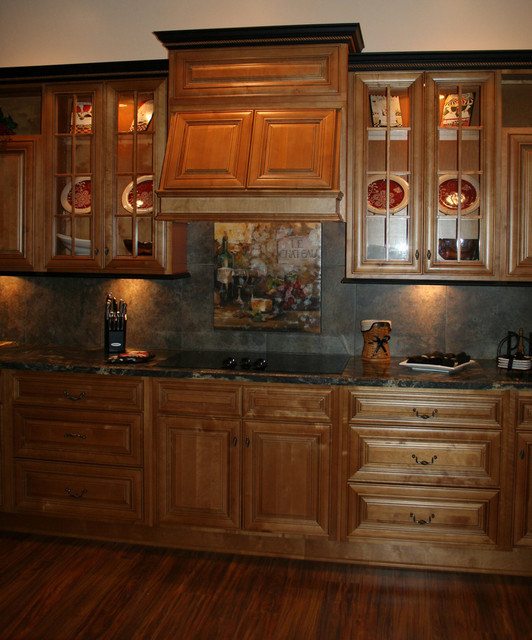 Mocha Kitchen Cabinets Home Design
