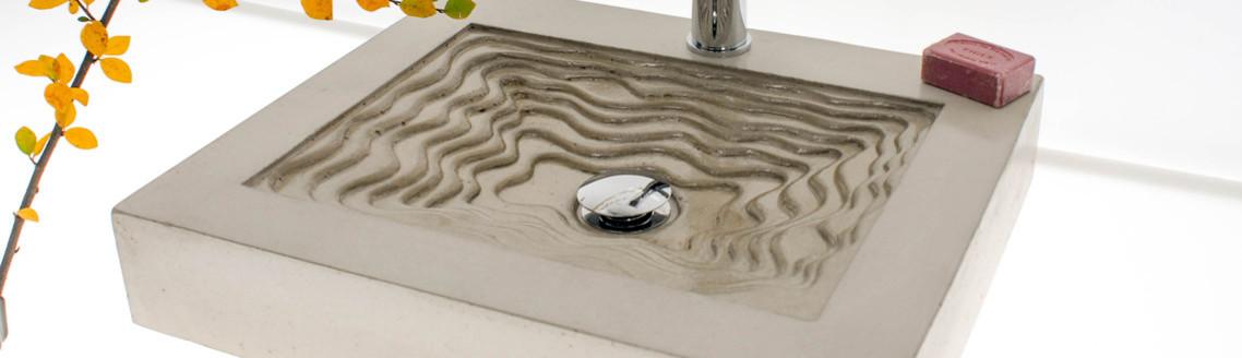 waschtische aus beton nach ma. Black Bedroom Furniture Sets. Home Design Ideas