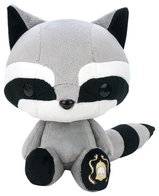 Bellzi Cute Raccoon Stuffed Animal Plush Toy Tanuki Contemporary