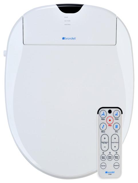 Awe Inspiring Brondell S1000 E Swash 1000 Elongated Bidet Toilet Seat Bralicious Painted Fabric Chair Ideas Braliciousco