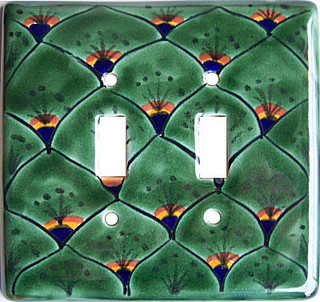 Shop Houzz Fine Crafts And Imports Peacock Talavera