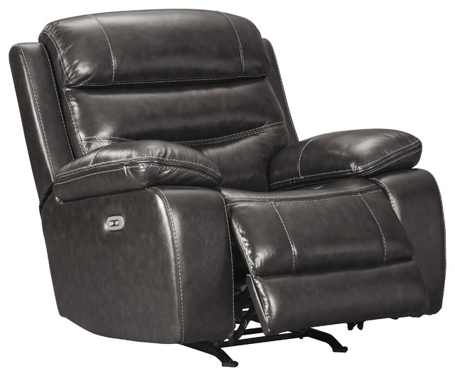 Pillement Power Rocker Recliner/adjustable Headrest In Metal 7700413.