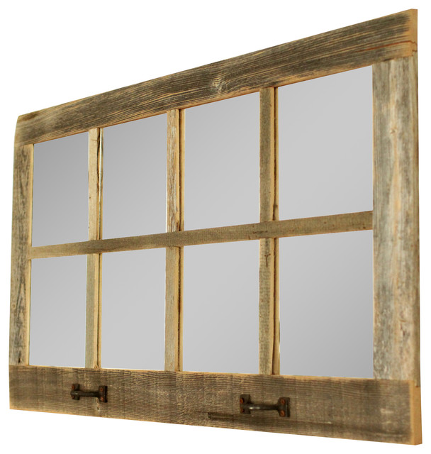Farmhouse Mirror 8 Window Pane Mirror Farmhouse Wall