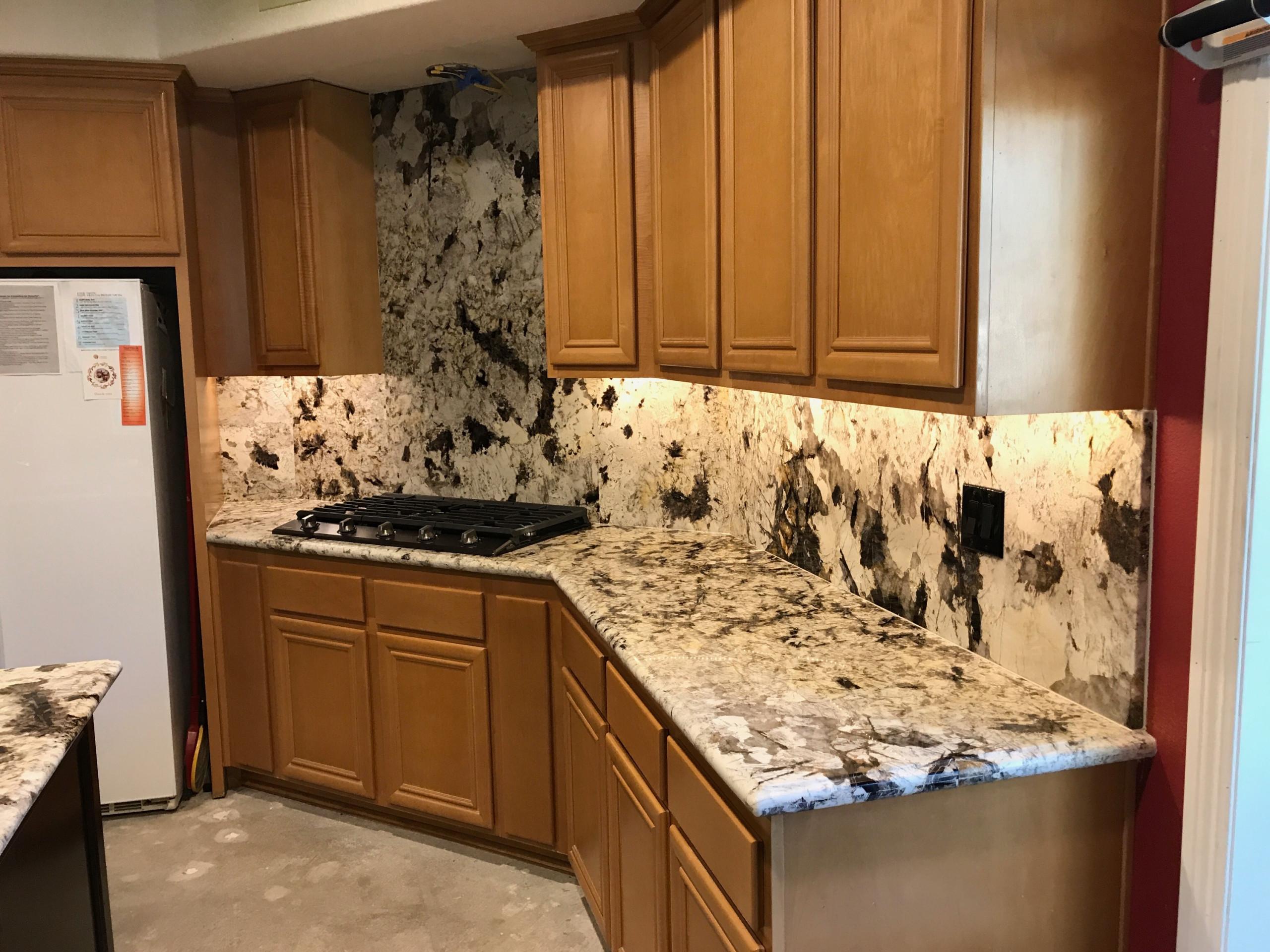Granite Kitchen & Backsplash Mission Viejo