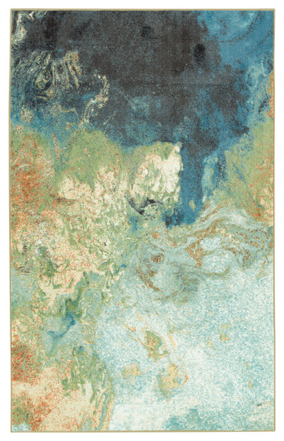 Aurora Marble Rug Contemporary Area Rugs By Mohawk Home