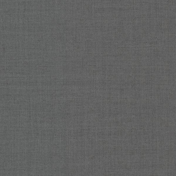 Valois Charcoal Linen Texture Wallpaper - Modern - Wallpaper - by Brewster Home Fashions