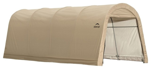 Autoshelter Roundtop Cover, 10&x27;x20&x27;.