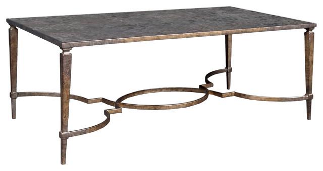 Marni Metal Cocktail Table.