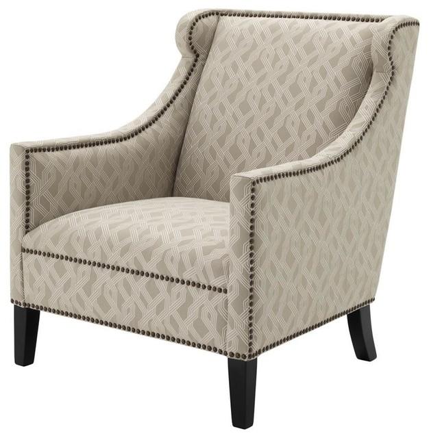 Lattice Gray Chair, Eichholtz Jenner, Gray, ...