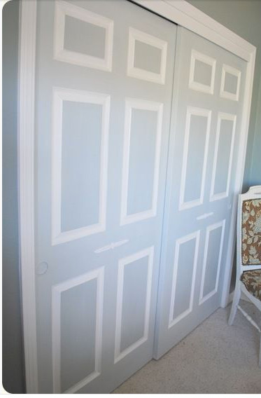 Painting Dated Closet Doors