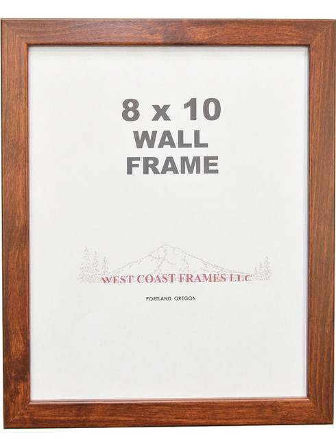 Canadian Walnut Frame, 5x7, 16x20 transitional-picture-frames