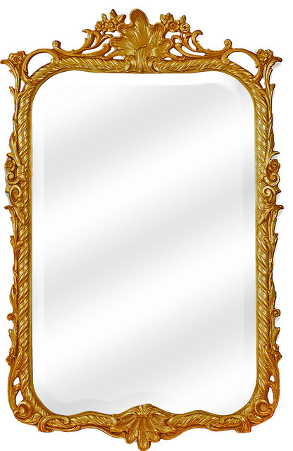 """The Chateauneuf Mirror, 32.5""""x56""""."""