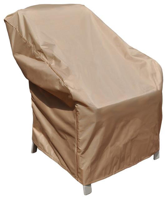 "Budge EmpirePatio Signature Tan Outdoor Chair Cover 34""x36""x"