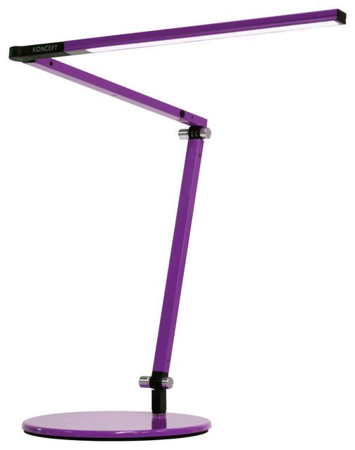 "Koncept AR3100-WD-DSK Z-Bar 1 Light 12-11/16"" Tall Integrated LED - Purple"