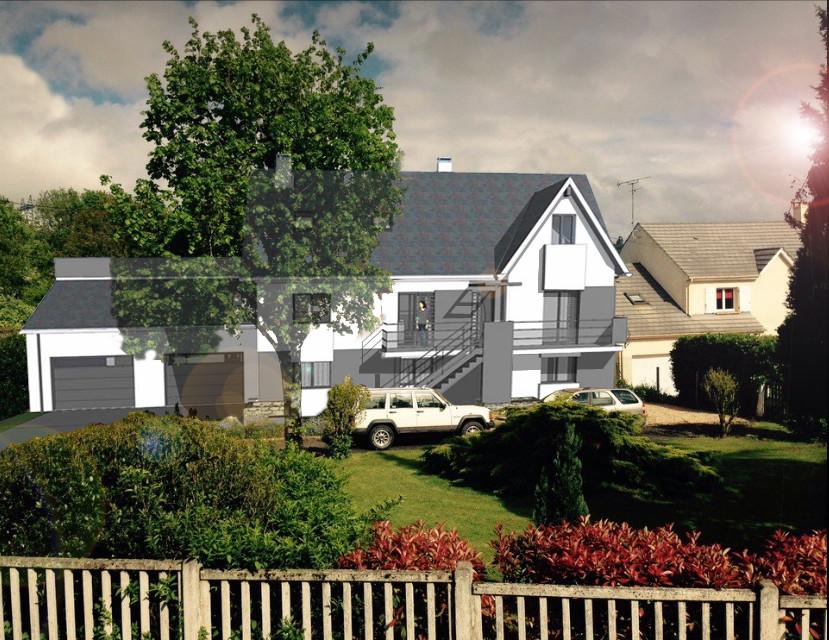 Renovation - Extension et Aménagement Paysager Maison individuelle à Villevaudé