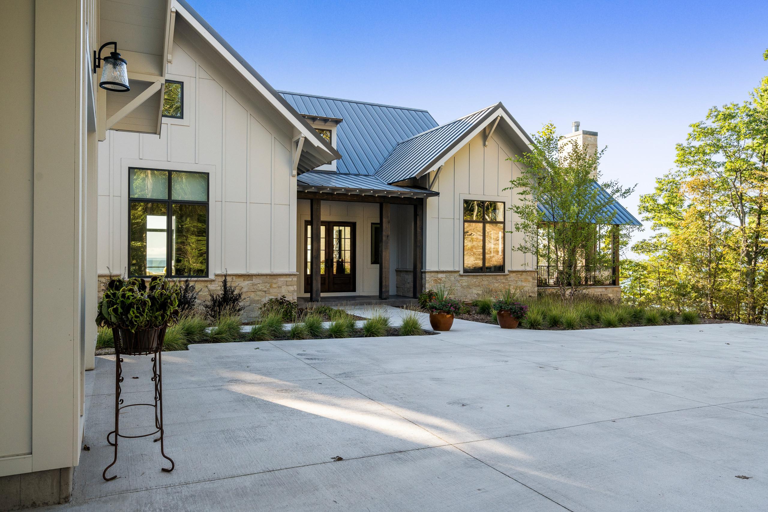 Modern Waterfront Farmhouse