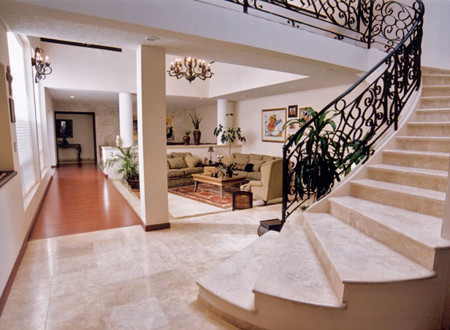 Authentic Durango VeracruzTM Stairs And Floor Tile Contemporary