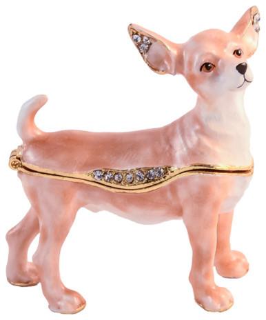 Maltese Dog Image Wooden Jewellery Trinket Box