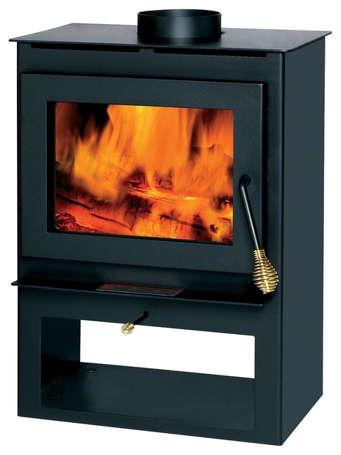 Wood Stove, 800-1200 Sq Ft., With Blower.